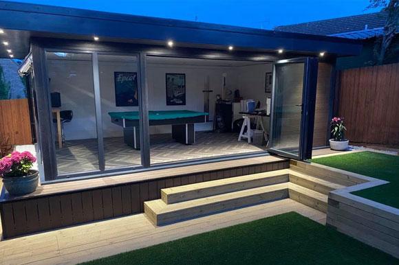 Relaxing Garden Studio Retreats Birmingham